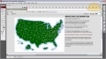 Flash + PHP USA Map Button Graphical Interfacing Tutorial CS3 CS4 CS5 - English