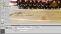 Fireworks CS4 Rubber Stamp Tool Tutorial Editing Photos - English