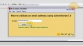 Flash Email Validation Tutorial  ActionScript 3.0 Function Use - English