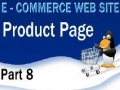 8 E Commerce Website PHP MySQL Tutorial Product Display Page - English