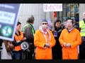 Dublin Demonstration against American Drone attack in Pakistan - English
