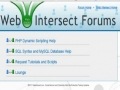 5 Web Intersect Forum Tutorial New Topic Page and Form - English