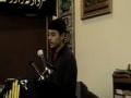 1st speech Muharram 2008 Bilal of  Sunday School Hussaini Calgary - English
