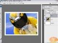 Creating Cool Image Borders w Smart Photos Photoshop Tutorial - English