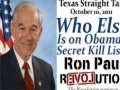 Ron Paul: Who Else is on Obama's Secret Kill List-English