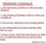The event of Mubahila - Urdu