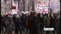 Austrian protest controversial Internet pact 12th Feb 2012 English