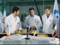 Iran President Ahmadinejad inspecting nuclear plant - Farsi