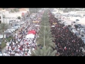 Bahrain: Huge Anti-governmental March during F1 - 20APR12 - All Languages
