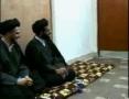 Meeting between Sayyed Abdul Aziz Al-Hakim and Sayyed Muqtada Al-Sadr - 3 of 4 - Arabic