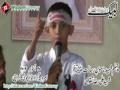 [لبیک یا رسول اللہ کانفرنس - Karachi] Speech - Son of Shaheed Ali Raza Taqvi - 20 Oct 2012 - Urdu