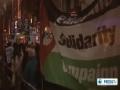 Hundreds protest in UK against israeli attack on Gaza - 15 Nov 2012 - English