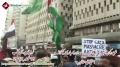 [18 November 2012] Protest against attack of Israeli forces on Gaza - Karachi Press Club - Urdu