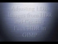 GIMP - Editing Hdr Images And Faux Hdr - English
