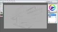 GIMP - Digital Painting  Flying Fortress - English