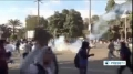 [10 Dec 2013] Egyptian security forces clash with university students in the capital Cairo - English