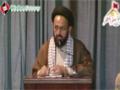 [یوم حسین ع] Speech : H.I Sadiq Raza Taqvi   MWM PAk - 17 December 2013 - Dawood Engineering University - Urdu