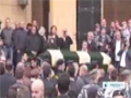 [30 Dec 2013] Beirut bombing victims laid to rest - English