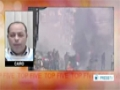 [03 Jan 2014] Egyptian police fire tear gas bird shots at anti govt protesters - English