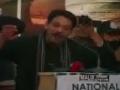 [قومی امن کنونشن] Speech :  Senator | Syed Faisal Raza Abidi - 05 January 2014 - Urdu