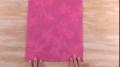 Japanese Pleats Gift Wrapping Basic Pleating Design - English