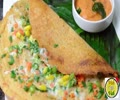 Mix Veg Multi Dal Adai Cheese Dosa - By Vah Chef  English