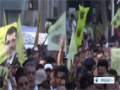 [27 Apr 2014] Egypt anti-coup alliance officially boycotts presidential poll - English