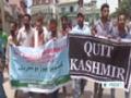 [23 June 2014] Kashmiris stage anti-India rally in Srinagar - English
