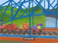 Learn about the Letter B - The Alphabet Adventure With Alice And Shawn The Train - English