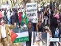 [25 July 2014] Zimbabwe march condemns israeli onslaught on Gaza - English