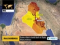 [12 Oct 2014] Multiple bomb explosions hit 2 provinces in Iraq, claiming at least 34 lives - English