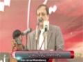 [یوم حسین ع] Speech : Ahmed Azhar (VC Of Karachi Uni) - 18 Nov 2014 - Karachi University - Urdu