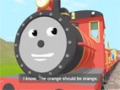 Learn about the Letter O - The Alphabet Adventure With Alice And Shawn The Train - English