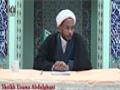 [10] Wafat of Hazrat Khadija (AS) - Sheikh Usama Abdulghani - 09 Ramadhan 1436/2015 - English