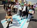 Qom, Iran Quds Day procession 2015 - Farsi