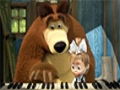 [14] Masha and The Bear - The Grand Piano Lesson - All Languages