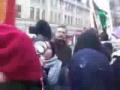 Protests in Manchester UK against Israel - Dec08 - Gaza massacre - English