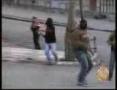 Protest in Ramallah against Israel - Dec08 - Gaza massacre - Arabic