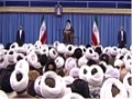 بیانات رهبر معظم انقلاب اسلامی در دیدار ائمه جمعه - ۱۴ دی ۱۳۹۴ - Farsi