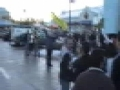 Protest at Stephen Harpers Calgary office for Gaza Part 7