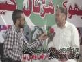 [Bhook Hartal Camp] آغا رضا ممبر صوبائی اسمبلی بلوچستان   خصوصی انڑویو - Urdu