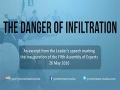 The Danger of Infiltration   Leader of the Islamic Revolution   Farsi sub English