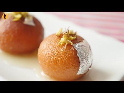 Quick Recipes - Gulab Jamun with Milk Powder Recipe - English Urdu