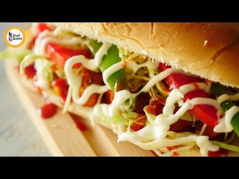 Quick Recipes - Bakery Style Burger Recipe - English Urdu