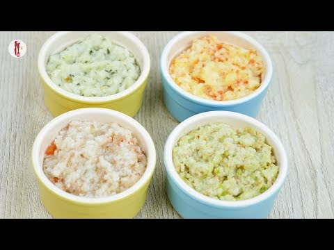 [Quick Recipes] 4 Meal ideas for toddlers with rice (khichdi) - English and Urdu