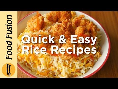 Quick & Easy Rice Recipes - English Urdu
