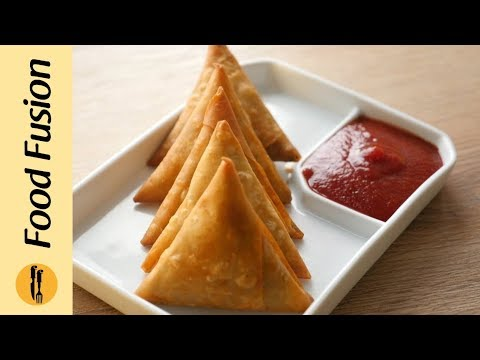 [Quick Recipes] Qeema Samosa Recipe - English Urdu