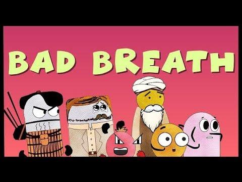 When a Friend has Bad Breath (Pt. 1/2) | BISKITOONS | English