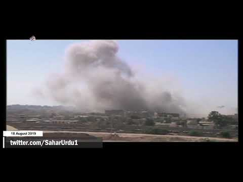 [18 Aug 2019] غزہ پر غاصب صیہونی حکومت کے جنگی طیاروں کی بمباری -urdu