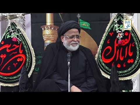 [4th Majlis] By Maulana Sayed Safi Haider   Khoja Masjid    1441/2019 Urdu